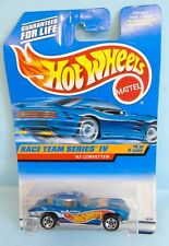 3362 HOT WHEELS CARTE US / RACE TEAM SERIES IV 1997 / 4/4 '63 CORVETTE 1/64