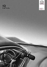 Genuine Toyota IQ Owners Manual IQ Handbook OM74031E