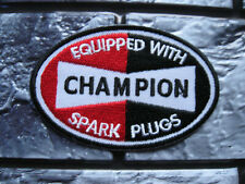 Aufnäher Patch Champion Motorcycles Motorradsport Biker Racing Tuning GT FX Race