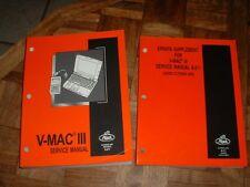 2002 Mack V-MAC III Service Manual 8-211 & Errata Supplement
