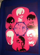 vintage ORIGINAL 1968 Cowsills POSTER UNUSED Screen Gems PSYCHE B217 21x29in
