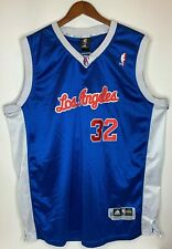 LA Clippers Mens Size 3XL Blue Adidas Blake Griffin 32 NBA Basketball Jersey