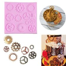 Gears Silicone Mold Cupcake Mould Baking Tools cake Decor Tool Baking Accessory