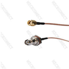 Wireless RP TNC Female to SMA Male RG316 15CM Linksys router adapter Cable/Lead