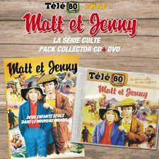 "LOT DOUBLE DVD DIGIPACK + CD NEUF ""MATT ET JENNY, LE MEILLEUR"" Tele 80 - Toys"