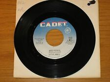 """SOUL 45 RPM - ETTA JAMES - CHECKER 5655 - """"MISS PITIFUL"""" + """"BOBBY IS HIS NAME"""""""
