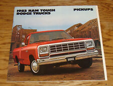 Original 1983 Dodge Truck Pickup Sales Brochure 83 Ram D W 150 250 350