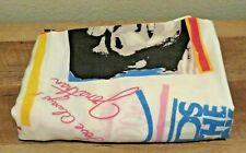 Vintage 1990 NKOTB New Kids on the Block Flat Twin Bed Sheet, Rock Express