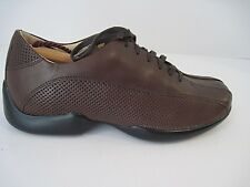 AETREX brown leather comfort shoes oxfords sneakers lace up size 7M