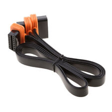16Pin OBD 2 OBD II Male To Dual Female Y Splitter Elbow Extension Cable Lead