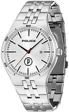 Police 14440JS-04M IRON WR 50M Gents Date Stainless Steel 2 Year Guar RRP £129