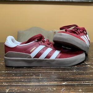 Adidas Businetz Men's Sneakers Shoes Size 6.5 Suede Burgundy