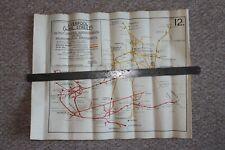 Liverpool Lime Street. Breakdown Train Arrangements Map