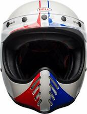 NIB - BELL MOTO-3 Off-Road MOTORCYCLE Ace Cafe GP 66 Gloss White/Red HELMET - XS