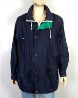 vtg 90s Nautica Good Morning America Jacket Colorblock Sailing TV News Press XL