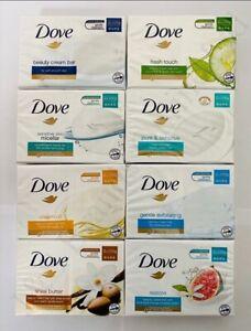 12 x Dove Beauty Moisturising Cream Bar Soap 100g x 2 x 6 Packs (8 Types)