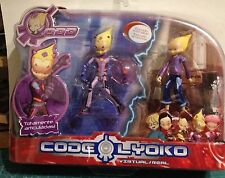 SIMBA Code Lyoko Figura ODD VIRTUAL  ESCUDO EXTRAIBLE Y ODD REAL VER FOTO