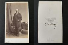 Bisson, Paris, le peintre Gustave Boulanger, à confirmer  Vintage albumen print
