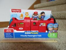 Fisher Price Little People Friendly Passengers Train Being Polite Facial Feature