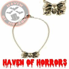 Skully Bow Necklace