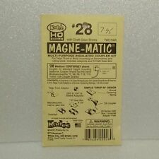 "Kadee HO #28 20-Series Coupler medium (19/64"") centerset"