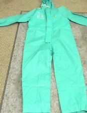 Onguard 71022Sm00 Size Small Green, Zipper Front Coverall