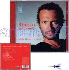 """BIAGIO ANTONACCI """"CUANTO TIEMPO"""" RARO CD IN SPAGNOLO - LAURA PAUSINI"""