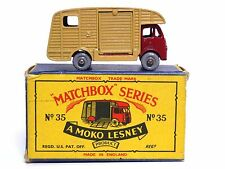 "MATCHBOX LESNEY No.35a ERF Marshall horse box type ""B5' MOKO Box (Near Comme neuf!)"