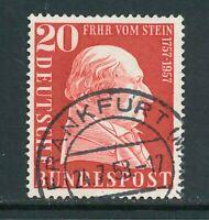 BRD Mi.-Nr. 277 - zentrisch gestempelt - Vollstempel Frankfurt