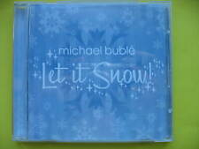MICHAEL BUBLE-LET IT SNOW. 6 TRACK CHRISTMAS CD SINGLE. CROONER. EX CON