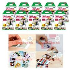 200 Sheet Fujifilm Instax Mini Film 200 Fuji instant photos Mini 9 8 7s 90