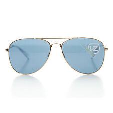 Von Zipper farva Oro Brillo Azul Marino Aviador Gafas De Sol smwf 7FAR GLB