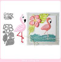 Stanzschablone Flamingo Tier Weihnachten Hochzeit Oster Geburstag Karte Album