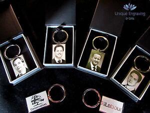Personalised Photo Engraved Portrait Keyring Keychain  - Great Gift Idea!