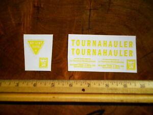 Nylint Tournahauler Construction Vehicle Sticker Set