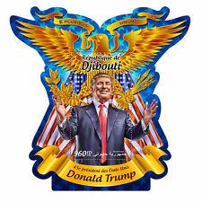 Djibouti 2016 MNH Donald Trump US Presidents 1v S/S Stamps