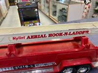 Vintage Nylint Fire Truck Aerial Hook-N-Ladder No. 5 - Working Mechanics