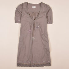 Noa Noa Damen Kleid Dress Gr.M (DE 36) A-Linien-Kleid Damenmode Boho Grau 77986