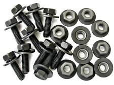 Toyota Body Bolts & Barbed Nuts- M6-1.0mm x 20mm Long 10mm Hex- Qty.10 ea.- #386
