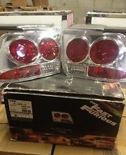 TYC The Fast and the Furious Tail Lights 81-5453-91 For 99-03 Ford Mustang All
