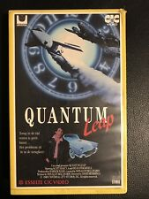Quantum Leap Ex-Rental Vintage Big Box VHS Tape English dutch subs