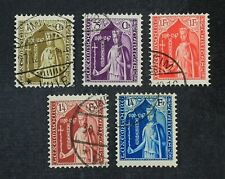 CKStamps: Luxembourg Stamps Collection Scott#B50-B54 Used