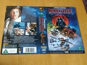 Julian Glover, Mike Edmonds & Chris Parsons Signatures On The Empire Strikes...