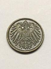 1912-E Germany 1 Pfennig AU+ #11907