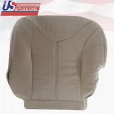 2000 - 2002 GMC Yukon SLE SLT - DRIVER BOTTOM FABRIC REPLACEMENT SEAT COVER TAN
