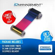Fargo 84061 YMCFK Ribbon for HDP5000 Card Printer • 500 Prints • Low Prices