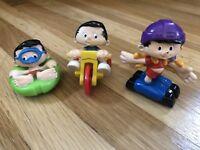 Vintage 1993 Bobbys World McDonalds Happy Meal Toys Lot Of 3...1