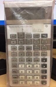Texas Instruments TI BA-54 Calculator Professional Business Analyst RARE! NEW!