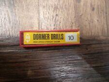Dormer High Speed Straight Shank 3/64 (10-off)