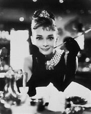 AUDREY HEPBURN AS HOLLY GOLIGHTLY FROM BREAK 8x10 Photo cool image 162617